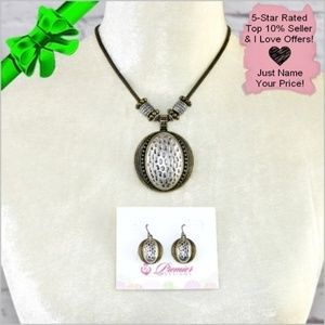 Medallion Jewelry Set ~0cd40s0lc11